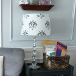 Easy Peasy Lamp Shade {How To}