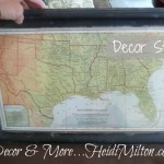 Looky What I Found {Antique Map of the South}