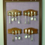 DIY Baby Spoon Display {Ugly Duckling Dining Room}