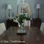 Ugly Duckling Dining Room No More! {Blogging Without Borders}