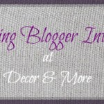 Inspiring Blogger Interview: Megan from Balancing Home