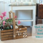 Thrifty Find Stencil Makeover
