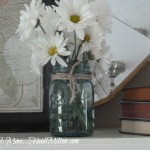 Spring Mantel Tweaks… I Couldn't Resist