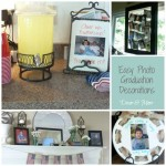 Easy Photo Graduation Decorations