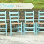 Annie Sloan Provence Chairs