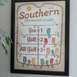 Looky What I Found! {Southern Grammar Chart}