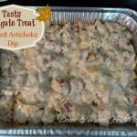 Tasty Tailgate Treat: Baked Artichoke Dip