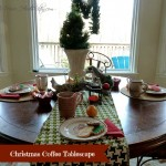 Set the Table for a Christmas Coffee (and a Rug Giveaway!)