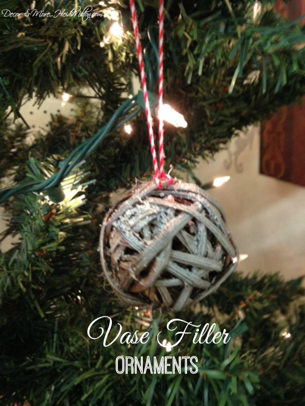 vase filler ornaments diy - Christmas Tree Filler Decorations