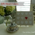 DIY Heart Canvas