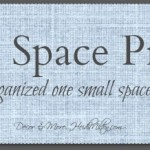 Let's Get Organized: The Small Space Project