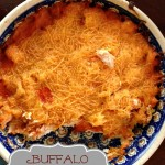 Buffalo Chicken Dip {Super Bowl Perfect!}