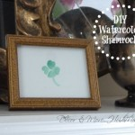 DIY Watercolor Shamrock (EASY!)
