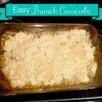 Easy Easter Brunch: 4 Ingredient Casserole Recipe!