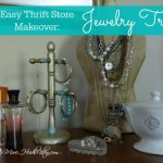 Easy Thrift Store Makeover: Jewelry Tree