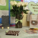 "Preschool Moms Tea… the ""Decor"""