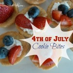 4th of July Cookie Bites