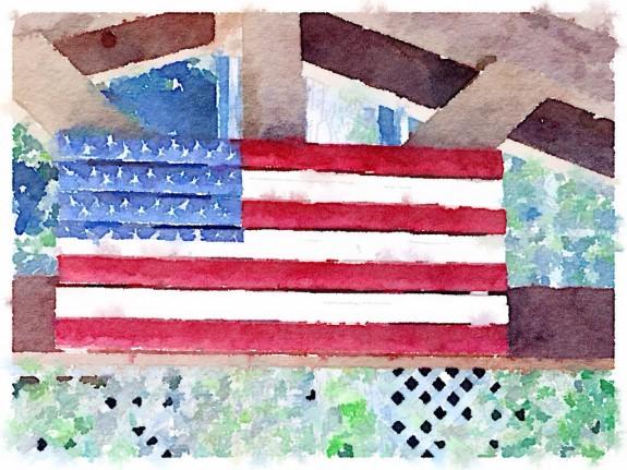 Waterlogue flag