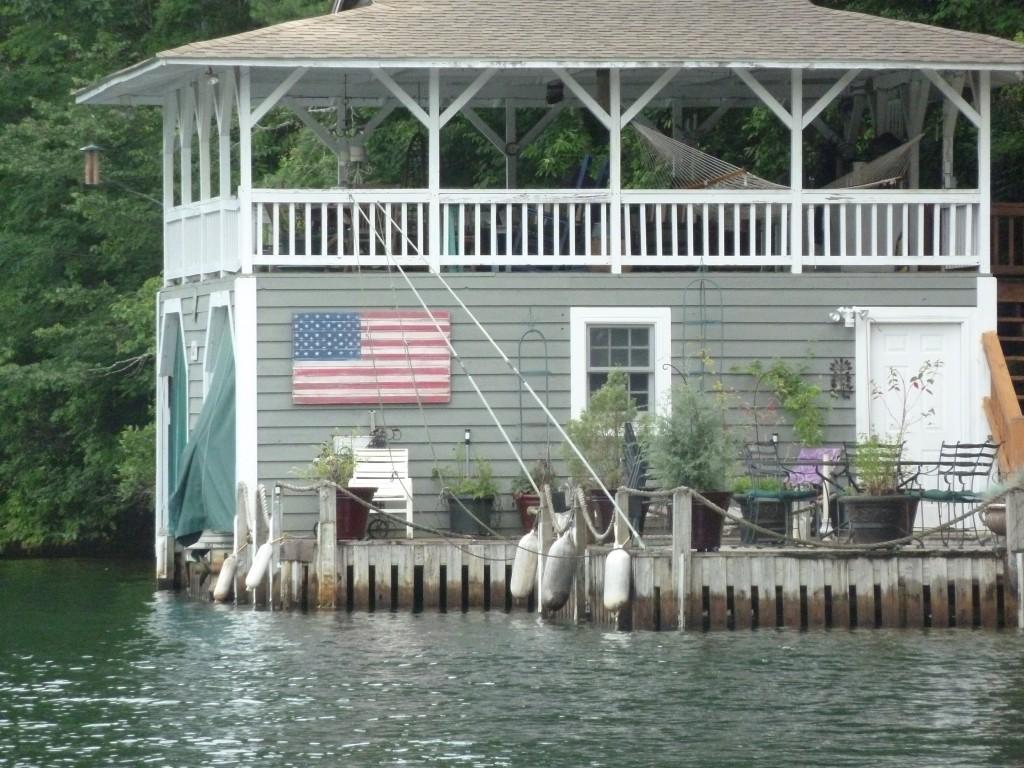Rabun boat house