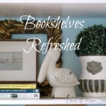 Family Room Bookshelves: Refreshed