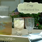 Easy Herbal Iced Tea