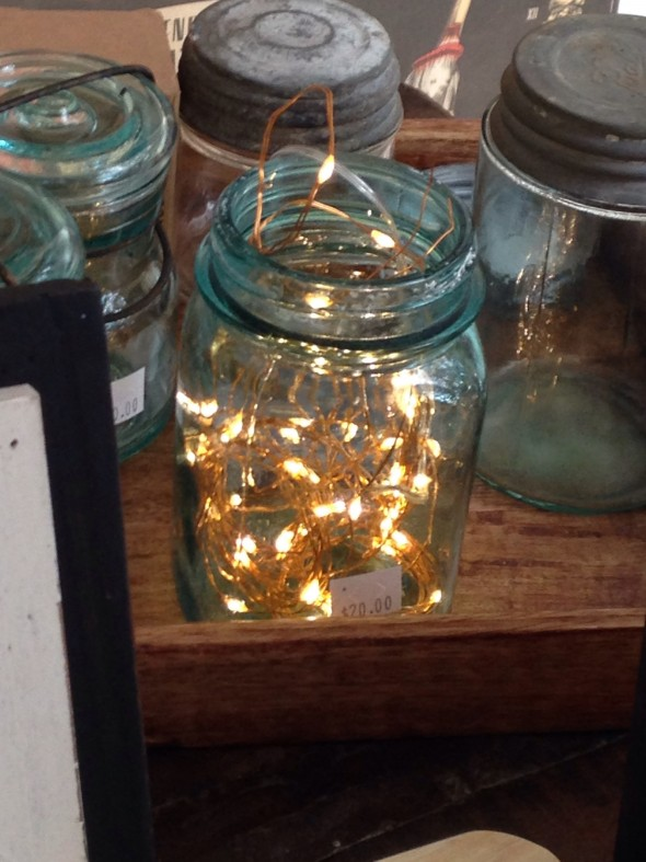 CL Fair lights in mason jar