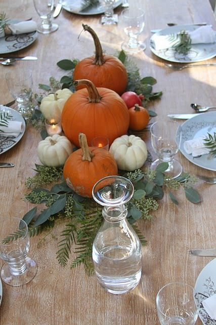 Tgiving table 4
