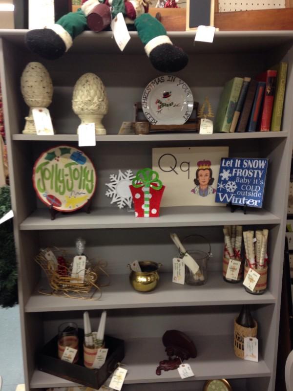 Remade shelves