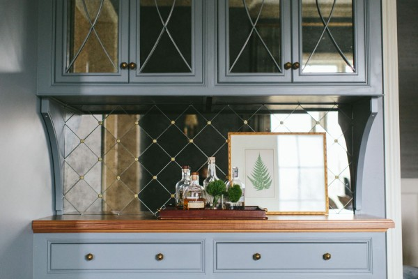 KM int antiqued mirrors