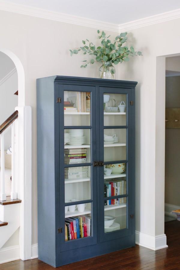 KM int blue cabinet