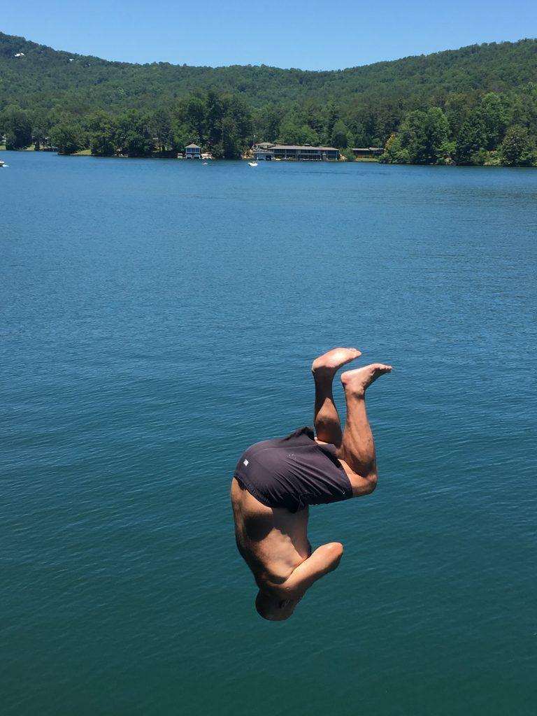 Jay back flip
