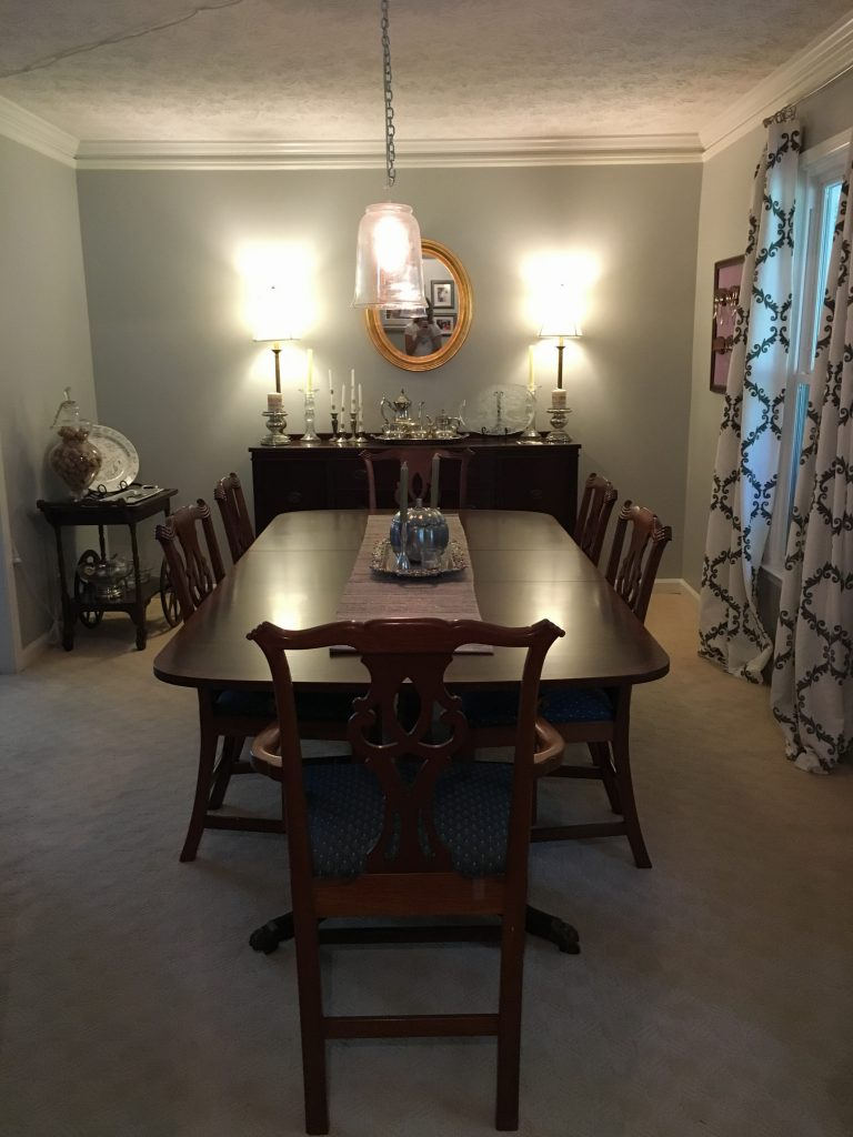 dining room new arrangement 2016