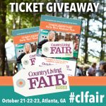 Country Living Fair ticket giveaway 2016