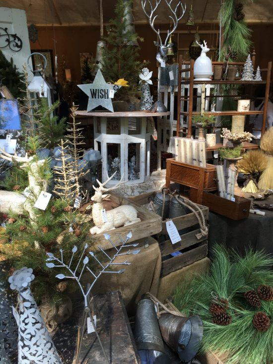 Country Living Fair holiday vignette