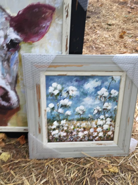 Country Living Fair cotton painting