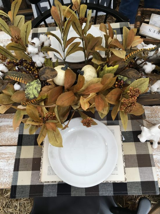Country Living Fair tablescape