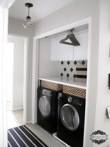 halway laundry rooms