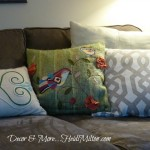 Joss & Main Shiraleah birds pillow