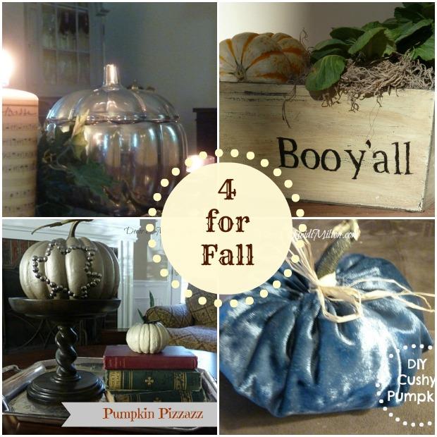 Four DIYs for Fall