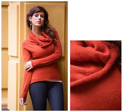 cotton alpaca sweater