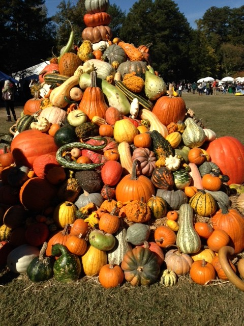 CL pumpkin tower