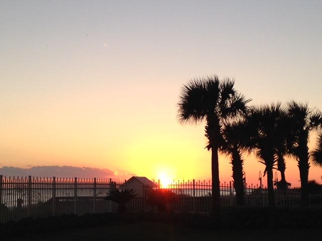 sunset Destin