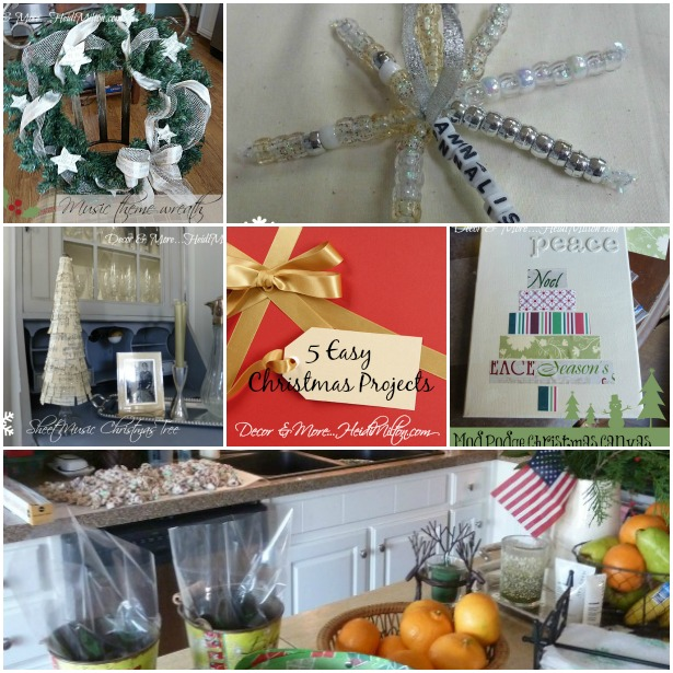 5 Christmas projects