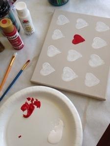 heart canvas IG