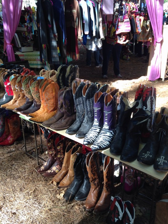 Cowboy boots CL Fair 2014