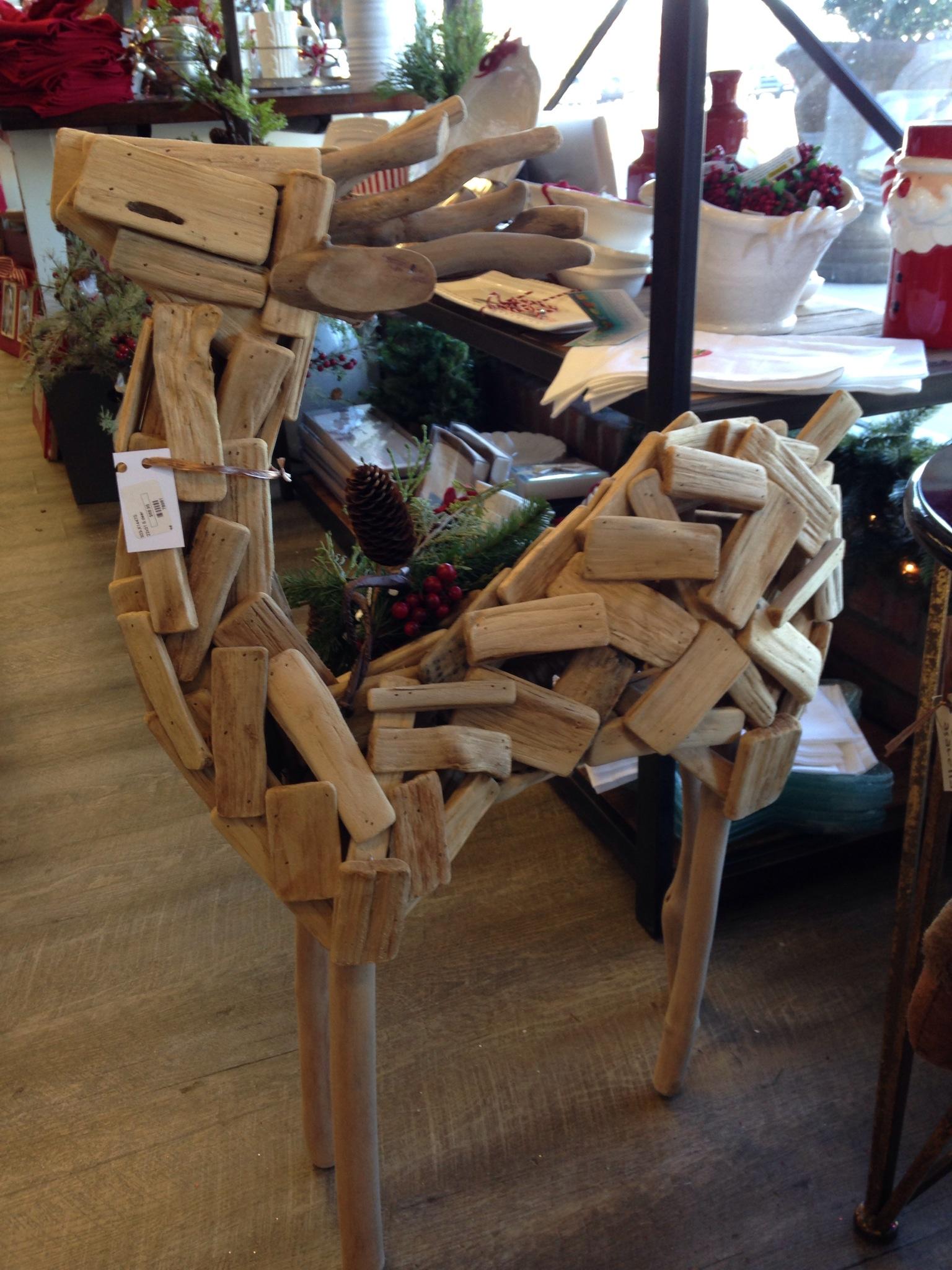 Casabella driftwood reindeer