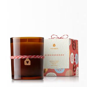 gift-thymes gbread candle
