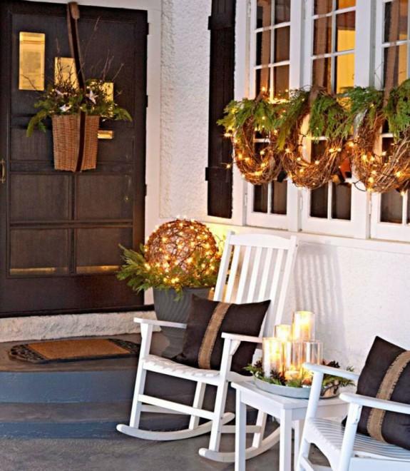 porch- lighted grapevine