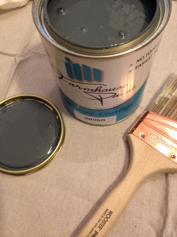 Farmhouse paint indigo