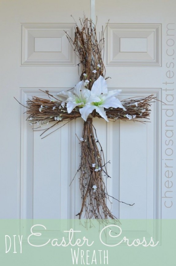 spring - twig cross